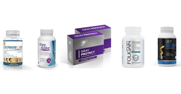 Tabletki na siwe włosy – ranking najlepszych preparatów 2019